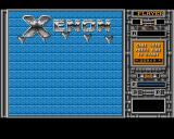 Xenon Amiga Title Screen