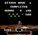 Dropzone Game Gear Attack wave 1 completed
