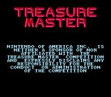 Treasure Master NES Nintendo disclaimer about Treasure Master competition.