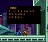 Mega Man X3 SNES First stage intro.