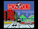 Monopoly Genesis Title Screen.