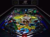 Pinball Windows Curse of the Pharaoh: Table Overview (note shadows of ball rails)