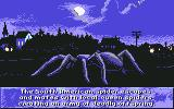 Arachnophobia Commodore 64 The story