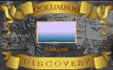 Columbus Discovery DOS Title screen