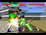 Soul Blade PlayStation Almost all actions are accompanied by special effects.