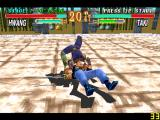 Soul Blade PlayStation Taki has a couple of acrobatic close combat attacks.
