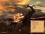 Heroes of Might and Magic V Windows Main menu
