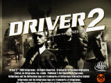 Driver 2 PlayStation Title screen