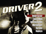 Driver 2 PlayStation Main menu