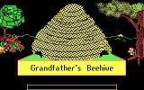 Bouncy Bee Learns Letters DOS Grandfather's Beehive intro