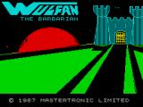 Wolfan ZX Spectrum Loading screen
