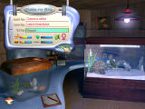 My Sim Aquarium Windows Selecting fish to buy. No money is exchanged, so they're really free.