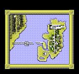 BreakThru NES The mission map