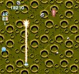 Gun-Nac NES A big carrot missile above the moon