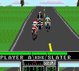 Road Rash Game Gear A police officer.