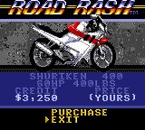 Road Rash Game Gear The bike shop.