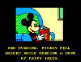 Land of Illusion starring Mickey Mouse SEGA Master System Opening story