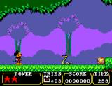 Land of Illusion starring Mickey Mouse SEGA Master System Area 1
