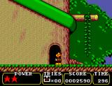 Land of Illusion starring Mickey Mouse SEGA Master System Outside a door in area 2