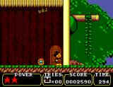 Land of Illusion starring Mickey Mouse SEGA Master System Inside the tree