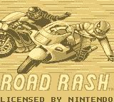 Road Rash Game Boy Title screen
