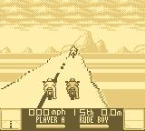 Road Rash Game Boy Starting grid.