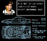 Knight Rider NES For the Japanese version they renamed Bonnie into Vonnie.