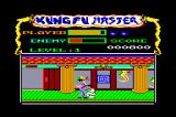 Kung-Fu Master Amstrad CPC The boss of the first level.