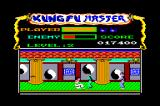 Kung-Fu Master Amstrad CPC The boss of the second level who throws a boomerang. Still easy to beat.