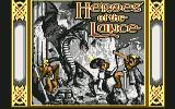 Heroes of the Lance Commodore 64 Title screen