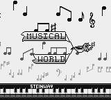 Parasol Stars: The Story of Bubble Bobble III Game Boy The intro for Musical World