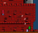 Milon's Secret Castle NES Stay outside for too long and you won't be safe any more