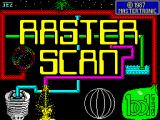 Rasterscan ZX Spectrum Loading screen