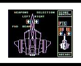 Silpheed TRS-80 CoCo Silpheed upgrading your weapons - Coco 1/2 version