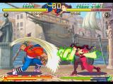 Street Fighter Alpha 2 PlayStation A simultaneous-clashing-attack involving both Sodom's Jigoku Scrape and Rose's Soul Spiral moves.