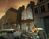 Half-Life 2: Episode One Windows Watch out for enemies shooting at you from above.
