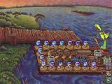 Logical Journey of the Zoombinis Windows 3.x Captain Cajun's Ferryboat; you have to put Zoombinis with similar characteristics together