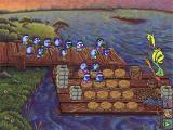 Logical Journey of the Zoombinis Windows 3.x Captain Cajun's Ferryboat in a higher level
