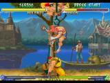 Street Fighter Alpha 2 PlayStation Assisted by one of his soldiers, Rolento executes his 'Take No Prisoner' Super Combo in Adon.