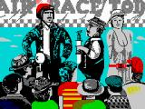 Gee Bee Air Rally ZX Spectrum Loading screen