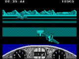 Gee Bee Air Rally ZX Spectrum Flying outside of markers in special event