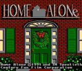 Home Alone NES Title Screen