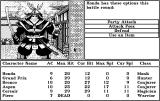 Tales of the Unknown: Volume I - The Bard's Tale Macintosh Battle options