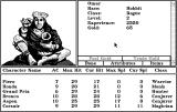 Tales of the Unknown: Volume I - The Bard's Tale Macintosh Character screen