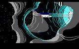 Space Quest II: Chapter II - Vohaul's Revenge DOS Entering Vohaul's base