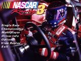 NASCAR Racing 3 title screen