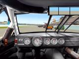 NASCAR Racing 3 Windows Racing using default in car view.