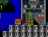 Spider-Man: Return of the Sinister Six SEGA Master System Here's our first villain, Electro.