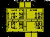 Lightforce ZX Spectrum High scores