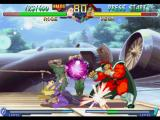 Street Fighter Alpha 2 PlayStation Before to be damaged by Vega (M. Bison)'s Psycho Shot, Rose injuries him with her Sliding move.